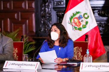 EN VIVO | Violeta Bermúdez, titular de la PCM, informará sobre acuerdos del Consejo de Ministros frente a la pandemia