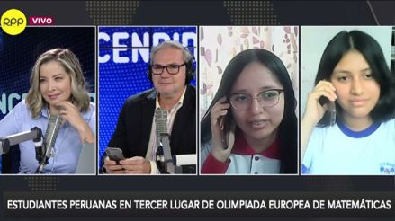 Escolares peruanas logran primeros puestos en Olimpiada Europea de Matemáticas [Audiogalería]