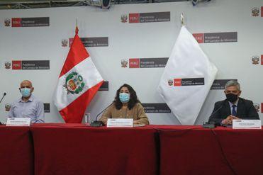 EN VIVO | Ministros informan sobre las acciones del Ejecutivo frente a la pandemia
