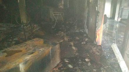 El colegio de periodistas venezolano denuncia que una sede fue incendiada