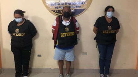 La Libertad: Detienen a tres personas que vendían vacunas falsas contra la COVID-19 [VIDEO]