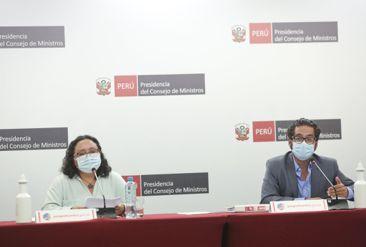Ministros explican las acciones llevadas por el Ejecutivo para enfrentar la pandemia de la COVID-19
