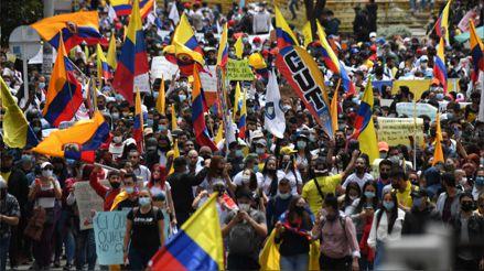 Crisis en Colombia: reforma tributaria, protestas y represión policial