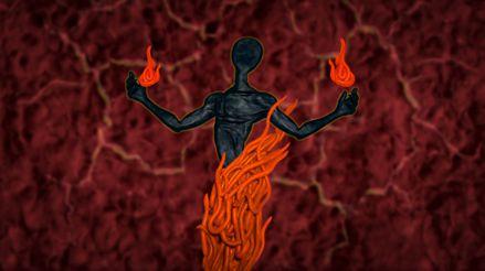 No estamos solos: El enigma del hombre en llamas