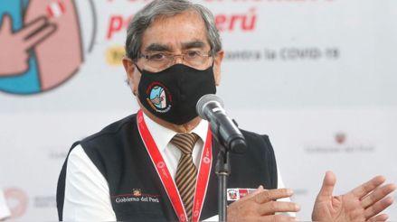 Óscar Ugarte: El sábado hemos llegado a 2 millones de dosis aplicadas de la vacuna