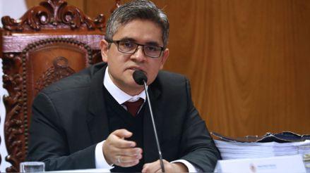 José Domingo Pérez solicita garantías y protección para él y su familia por amenazas