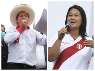Cronología de las actividades realizadas por Pedro Castillo y Keiko Fujimori este sábado [Audiogalería]