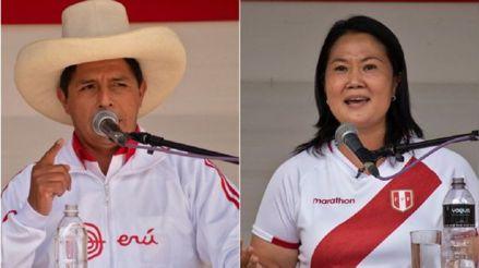 CPI: Pedro Castillo tiene 34,4 % de preferencia electoral y Keiko Fujimori llega a 32,6 %