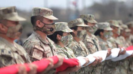 Ministerio de Defensa informa sobre la participación de las Fuerzas Armadas en el proceso electoral
