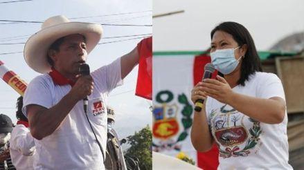 Simulacro El Comercio-Ipsos: Pedro Castillo obtiene 51,1% y Keiko Fujimori 48,9%