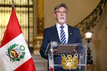 Francisco Sagasti dio un mensaje a la Nación a dos días de las elecciones