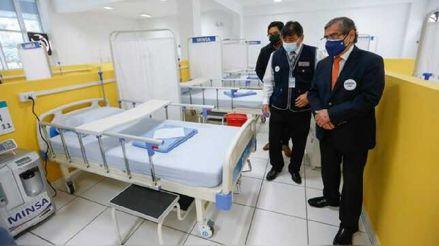 Puente Piedra: Minsa inaugura Centro de Atención Temporal 'La Ensenada' para pacientes COVID-19