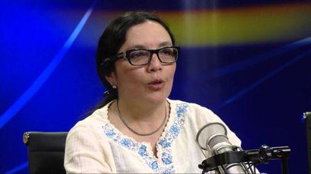 """Patricia Zárate de IEP: """"A nosotros la encuesta de intención de voto nos dio un empate"""""""