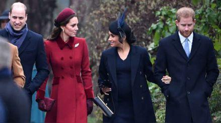 William y Kate Middleton felicitan a Meghan Markle y al príncipe Harry por el nacimiento de Lilibet Diana