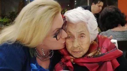 Laura Zapata revela que su medio hermana se robó los ahorros de su abuela de 103 años