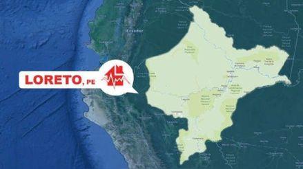 Un sismo de magnitud 4.6 remeció la región Loreto esta mañana