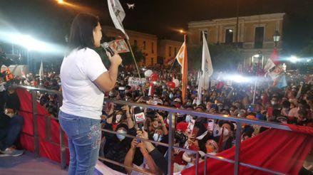 Keiko Fujimori tras conteo de ONPE: