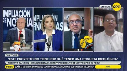 Juntos por el Perú respalda una Asamblea Constituyente para el cambio de la Carta Magna