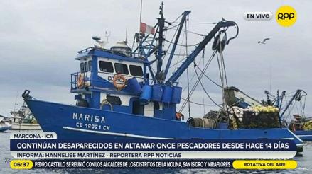 Ica: continúa búsqueda de pescadores desaparecidos en altamar hace 14 días [VIDEO]