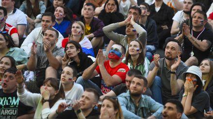 Moscú cerró su 'fan-zone' de la Eurocopa por un rebrote de la COVID-19