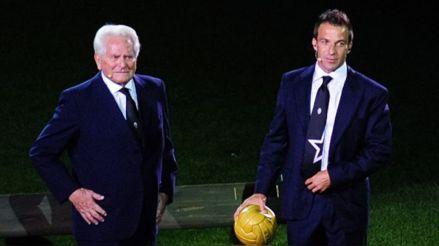 Murió Giampiero Boniperti, leyenda de la Juventus, a los 92 años