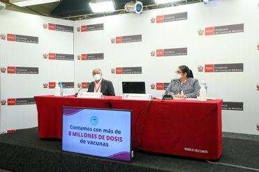 Ministros de Estado explican las medidas adoptadas por el Gobierno frente a la pandemia