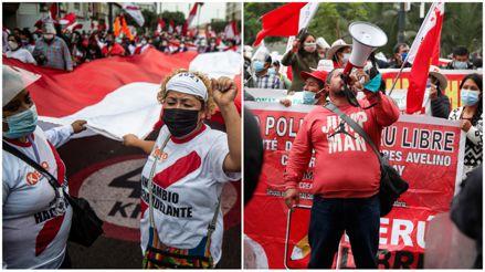 Diversos colectivos marcharán este sábado por las calles de Lima en apoyo a candidatos presidenciales