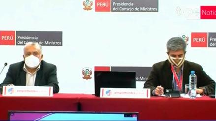 Coronavirus en Perú | Ministros informan sobre las acciones del Ejecutivo frente a la pandemia