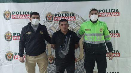 San Luis: Policía capturó a hombre que agredió a su pareja con un cuchillo