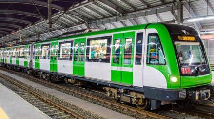 Restablecen el servicio del Metro de Lima tras caída de poste en la vía férrea