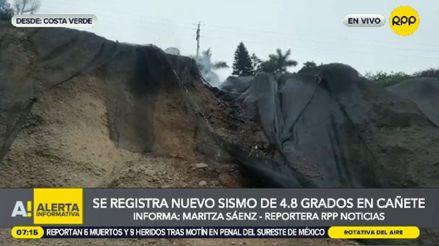 Sismo en Lima: remezón dañó unos 100 metros cuadrados de geomallas de la Costa Verde