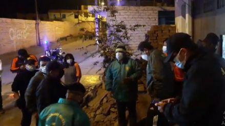 Alcaldesa de Mala reporta daños en viviendas tras sismo de magnitud 6
