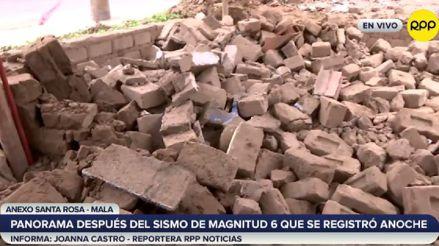 Estos son los impactos que dejó el fuerte sismo de 6.0