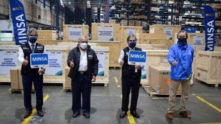 Minsa recibe cuatro nuevas plantas de oxígeno procedentes de Francia