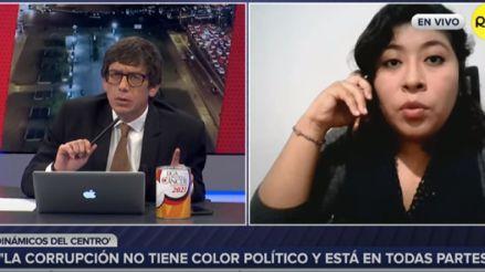 Betssy Chávez, de Perú Libre: