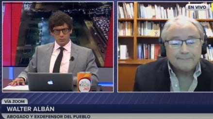 Walter Albán: El Congreso quiere un Tribunal Constitucional a la medida