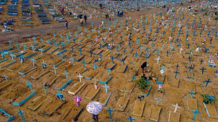 Brasil registra 62 504 nuevos casos y 1 780 muertes por COVID-19 en 24 horas