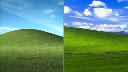 Microsoft le da una nueva vida al mítico fondo de Windows XP