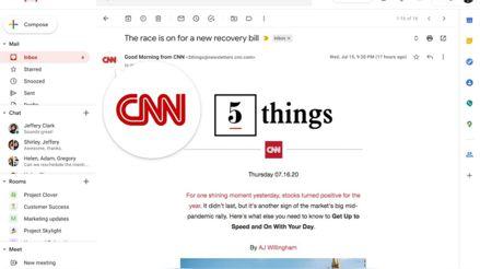Contra las estafas: Gmail empezará a mostrar logos en su bandeja de entrada