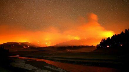 Estados Unidos: más de 400 personas fueron evacuadas por los incendios forestales en California