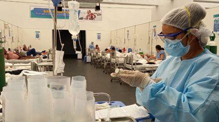 Minsa: Hay 8 354 pacientes hospitalizados por la COVID-19 en todo el país