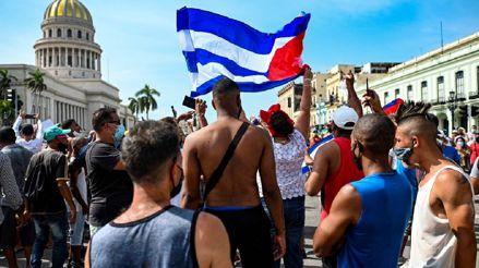 Cuba: un muerto en las protestas antigubernamentales en La Habana