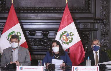 Jefa del Gabinete informa sobre acuerdos del Consejo de Ministros frente a la pandemia