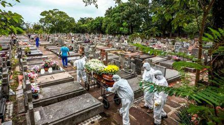Brasil suma 948 fallecimientos y 34 126 casos de COVID-19 en las últimas 24 horas