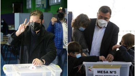Sebastián Sichel y Gabriel Boric: los candidatos presidenciales de la derecha y la izquierda en Chile