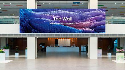 The Wall 2021: el panel modular de Samsung llegará hasta las 1000 pulgadas