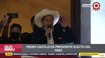 EN VIVO | Jurado Nacional de Elecciones proclamó a Pedro Castilo como presidente electo