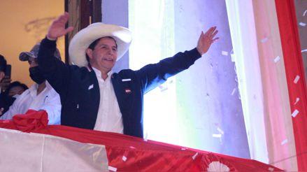Las reacciones tras la proclamación de Pedro Castillo como presidente electo [Audiogalería]