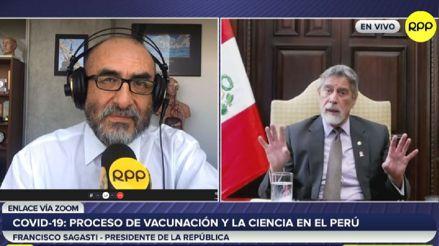 Francisco Sagasti: escucha lo más resaltante de su entrevista con el Dr. Elmer Huerta