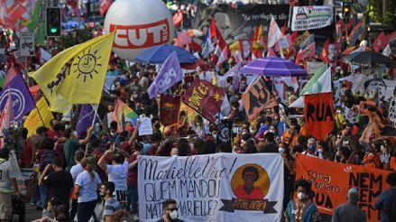 Brasil vuelve masivamente a las calles para exigir la destitución de Jair Bolsonaro